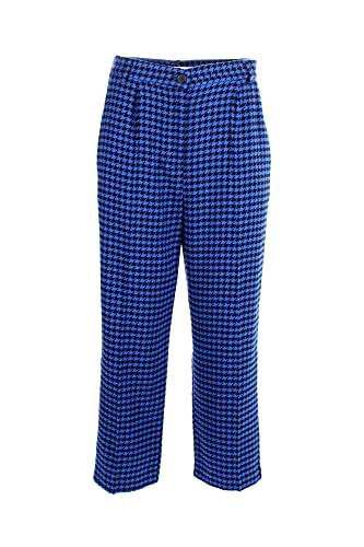 VICOLO Pantalone Donna M Blu/nero Tw0900 2/20 Autunno Inverno 2020/21