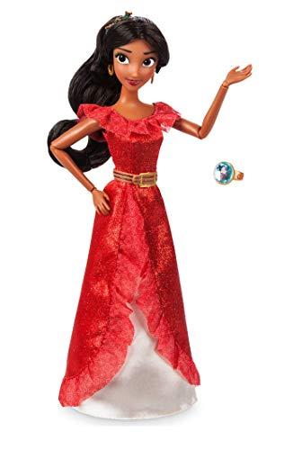 Muñeca clásica con anillo de Disney, Elena de Avalor, 30 cm.