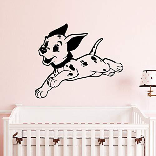 SUPWALS DIY Cute Dog Vinyls Stickers Wallpaper for Kids Room Decoration Nature Bedroom Livingroom Decor Mural Poster