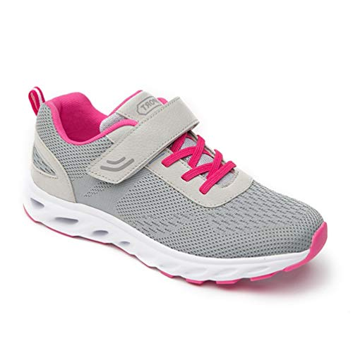 Spring Female Singles Shoes Autumn Non-Slip Elderly Shoes Middle-Aged Walking Shoes Sports Shoes gray 6.5