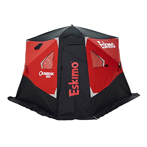 Eskimo Outbreak 450l Insulated Pop-Up Hub-Style Ice Shelter