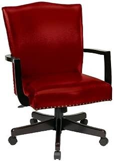 Morgan Manager's Chair Crimson