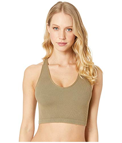FP Movement Free Throw Crop Army XS (Women's 0-2)