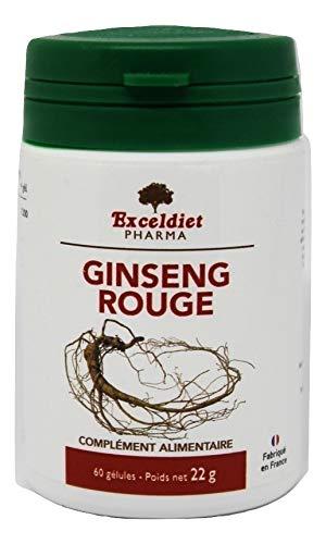 Ginseng Panax | Performance Physiques | Performances Cognitives | 60 Gélules | Fabriqué en France