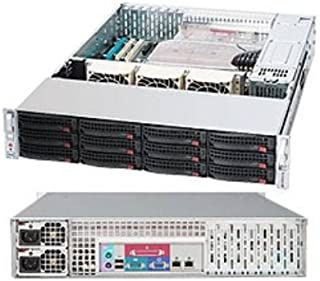 SUPERMICRO 360-Watt 1U Rackmount Server Chassis Black CSE-111LT-360CB