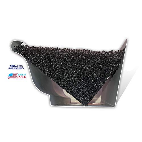 AllOut Pro Gutter Filter- 5' K-Style Foam Gutter Filter…
