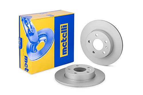 metelligroup 23-0489C Bremsscheiben Lackiert, Kit bestehend aus 2 Bremsscheiben, Ersatzteil im Auto, ECE R90-zertifiziert
