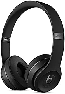 Beats Solo3 Wireless On-Ear Headphones - Black (Renewed)