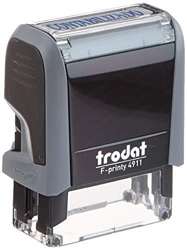 Trodat - Sello con impresion de texto estánda, formula contabilizado,  tamaño impresion 38x14mm