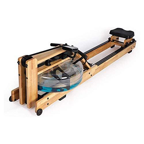 SMQHH magnético máquina de Remo, Máquinas de Remo Máquina de Remo de Resistencia al Agua con Pantalla LCD Máquinas de Remo de Agua para el hogar Aereor Aerobic Slimming Equipos de Aptitud