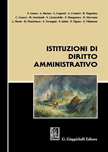 Istituzioni di diritto amministrativo