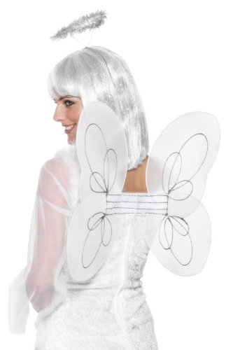 Generique - 350000 - Ailes Blanches Ange Adulte