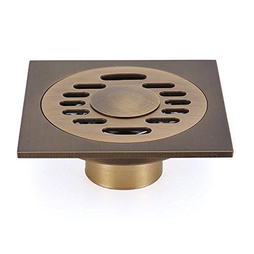 Eridanus, Bad Duschablauf, Küchen Garten Bodenablauf, 100 mm, Bronze