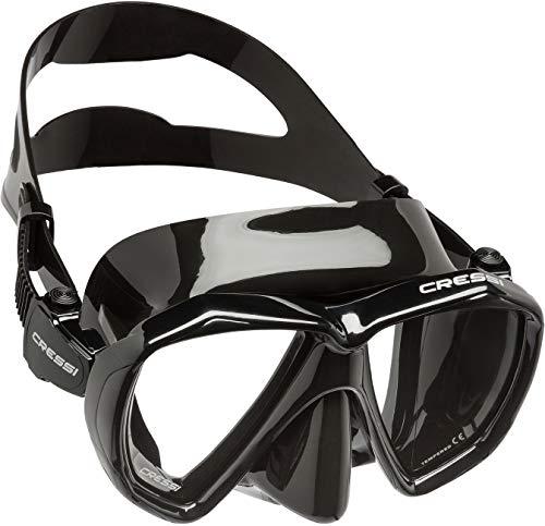 Cressi Ranger Mask Máscara de Buceo, Unisex Adulto, Negro, Talla Única