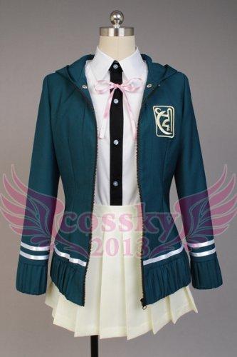 『スーパーダンガンロンパ2 さよなら絶望学園 七海千秋 コスプレ衣装 XS-XXLサイズ (セミオーダー)』の2枚目の画像