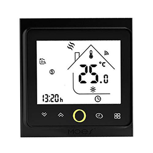 VISLONE ZigBee - Termostato inteligente programable controlador de temperatura ZigBee Hub necesario Smart Life Tuya APP Control remoto compatible con Alexa Google Home Control de voz