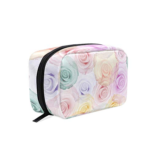 Trousse de maquillage Rainbow Rose Srt Cosmetic Pouch Clutch
