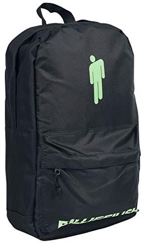 Eilish, Billie Bad Guy Unisex Backpack Black, 100% Polyester,