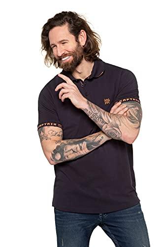 JP 1880 Herren große Größen Übergrößen Menswear L-8XL Poloshirt Navy XL 726719 76-XL