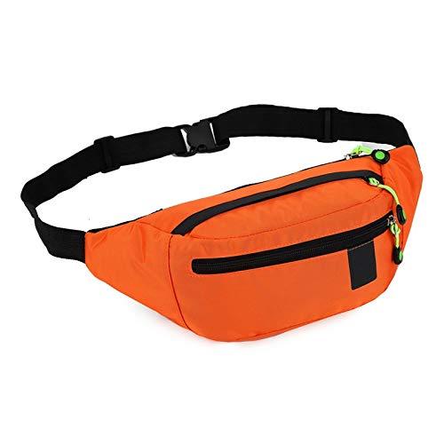 NKns Casual Fashion Practical Sports Outdoor Travel Pockets Multi-Function Shoulder Bag Chest Bag OrangeTracking Rucksack Herren
