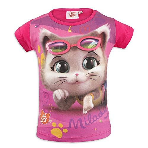 44 Gatti – Camiseta de manga corta para niña – Algodón