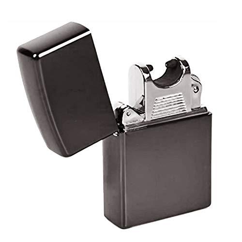プラズマ アーク放電 電子ライター USB充電 ブラック(BLACK)