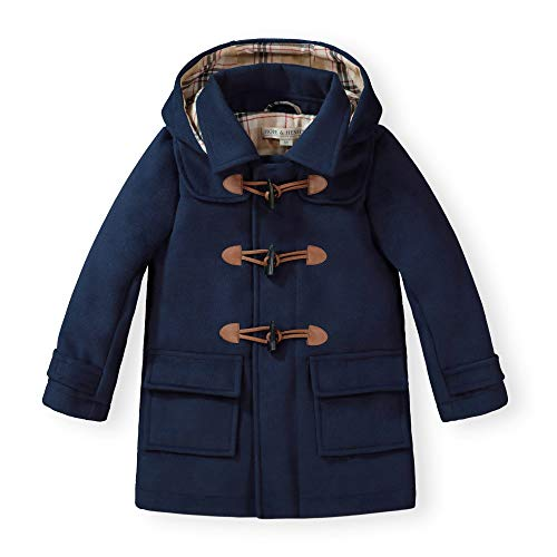 Hope & Henry Unisex Kids Toggle Duffle Coat Navy