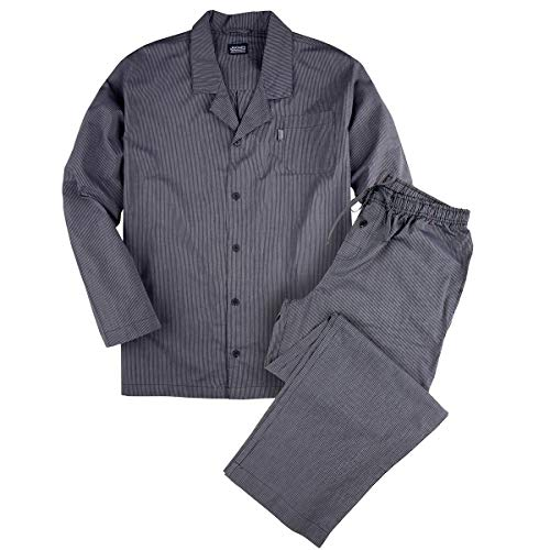 Jockey Pyjama Navy-weiß gestreift große Größen, Größe:3XL