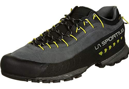LA SPORTIVA Herren TX4 GTX Trekkingschuhe, Carbon/Kiwi, 47 EU