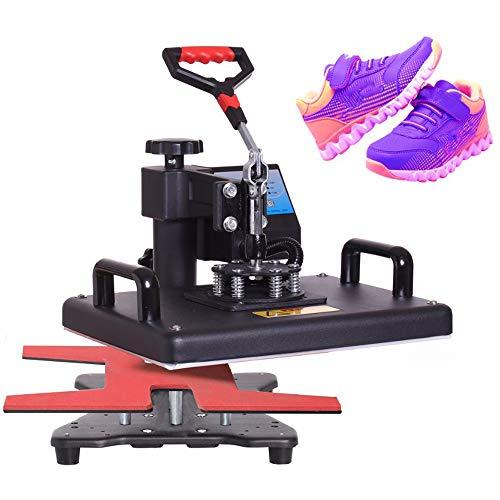QWERTOUY 14 en 1 la Prensa del Calor de la máquina/máquina de la Prensa del Calor de la sublimación de la Impresora para Las Camisetas Placas/Cap/Taza Cubiertas/teléfono/Pluma/de fútbol, etc.