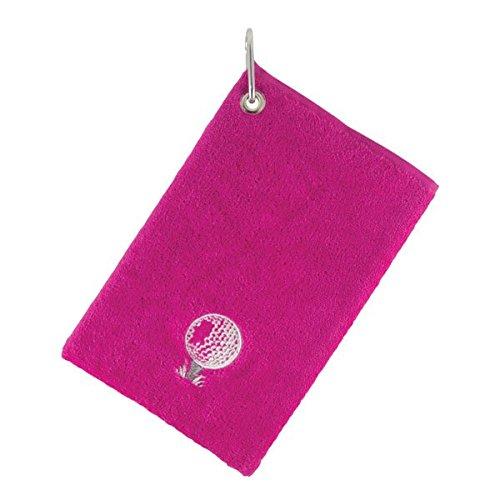 Surprizeshop Damen Karabiner Tasche Handtuch, Damen, 9522575728000, Pink/Pink, Nicht zutreffend