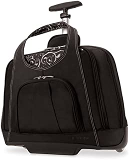 Kensington Contour Balance Notebook Roller Bag in Onyx Onyx One Size
