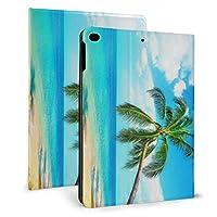 Ipad Mini5 ケース 2019 第五世代 モデル カバー Beautiful Palm Trees 超薄型 超軽量 Puレザー スマートカバー 傷防止 耐衝撃 Tpu 保護 キズ防止 指紋防止 7.9インチタブレット用