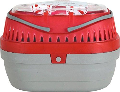 Zolux Mini Panier de Transport pour Rongeur Rouge