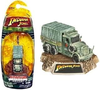 Indiana Jones Cargo Truck 3 Inch Titanium Series Raiders of The Lost ARK Die-Cast Vehicle