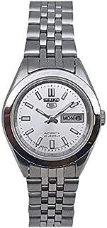 ساعة سيكو اوتوماتيكية 21 ساعة تقويم من الفولاذ المقاوم للصدأ للسيدات SYMF65J