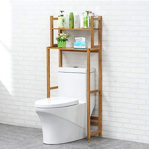 Holz-WC-Lagerregal, Über Dem Toilettenregal Raumwunder Badezimmer Stauraum Langlebig, Der Kompakte WC-Regal-Organisationsschrank