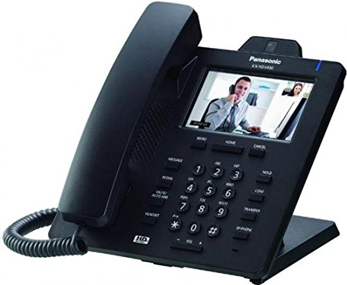 Panasonic KX-HDV430 SIP VoIP - Teléfono de oficina, color negro