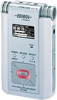 Roland 24bit WAVE/MP3 Recorder (白) R-09W