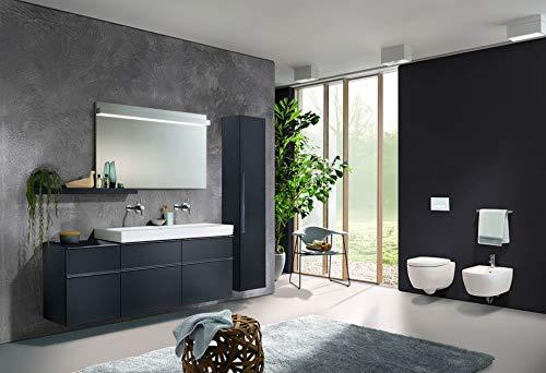 Keramag Icon Wand WC Tiefspüler 204000 Toilette wandhängend Hänge WC weiß, mit Spülrand