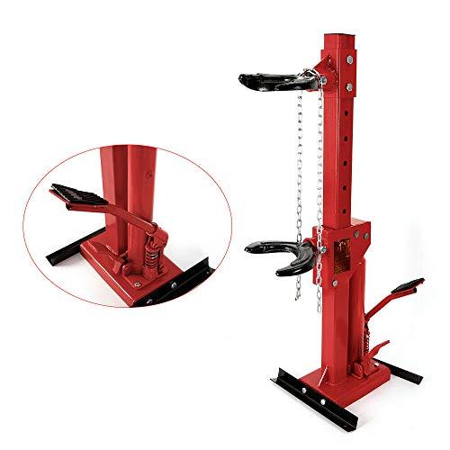 sujrtuj 6600LBS 3T Hydraulischer Federspanner Federbeinspanner KFZ Spanner Werkzeugsatz