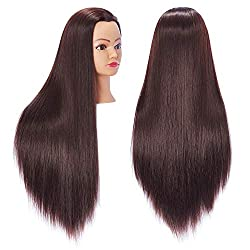 top rated Hairingrid 26 ″ -28 ″ Mannequin Head Training Head Hair Styling Mannequin Beauty Doll Head… 2021