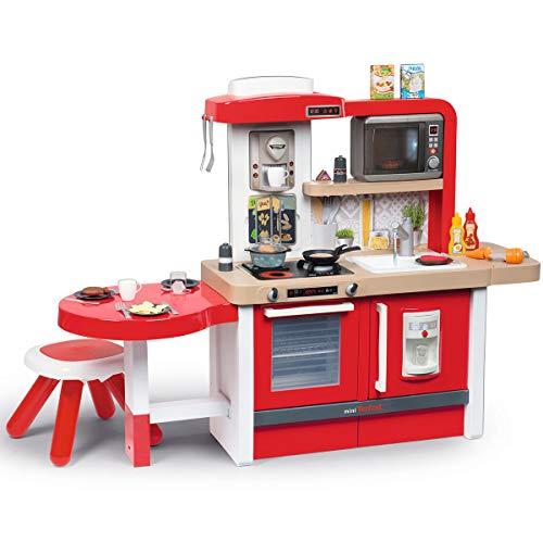 Smoby- Cocina Juguete evolutiva, Color Rojo (312302)
