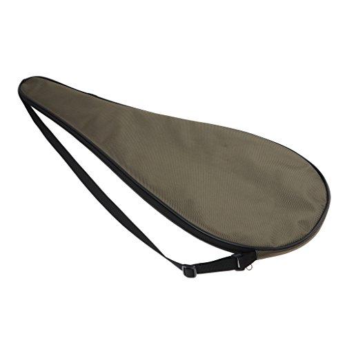 MagiDeal Wasserdicht Schlägertasche für Squashschläger - Armeegrün