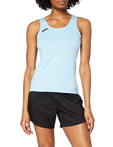 Joma 900038.350 Camiseta, Mujer, Azul Celeste, XS