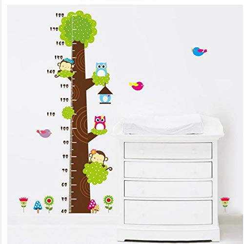 XXZ Wall Sticker Pegatina de pared para sala de estar, decoración del hogar, diseño de dibujos animados, árbol pequeño, niño
