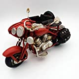 DynaSun Art Vintage Modèle de Moto en métal, Collection 1: 13 échelle 19 cm