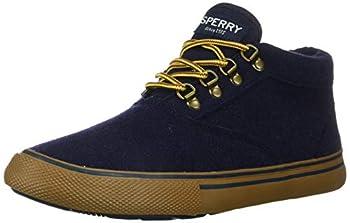 Sperry Men s Striper II Storm Waterproof Chukka Sneaker Navy Wool,11