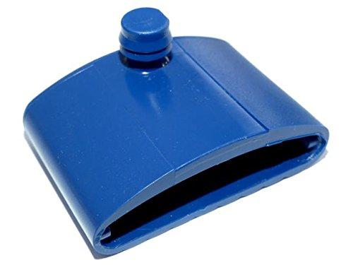 BOSSASHOP.de Kautschukkappen Wippe z.B. für Metallrahmen | Farbe: blau | 10er Paket (8x55mm) | 1041