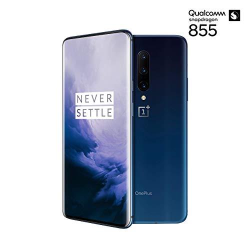 OnePlus 7 Pro Smartphone Nebula Blue (16,9 cm) AMOLED Display 8 GB RAM + 256 GB Speicher, Triple Kamera (48 MP) Pop-up Kamera (16 MP) – Dual SIM Handy (Generalüberholt)